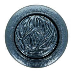 Knopf Kreis austaus. Herz Größe 36 - 22.50mm - 40Stk
