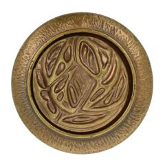 Knopf Kreis austaus. Herz Größe 40 - 25.00mm - 40Stk