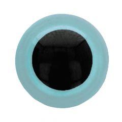 Tieraugen - Sicherheitsaugen zweifarbig 6mm - 100Stk