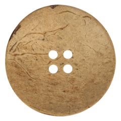 Knopf Kokos 4 Löcher Größe 70-120 - 25-30Stk
