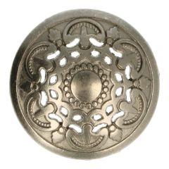 """Knopf Metall 24"""" italienisches Design - 50 Stück"""