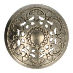 """Knopf Metall 28"""" italienisches Design - 50 Stück"""