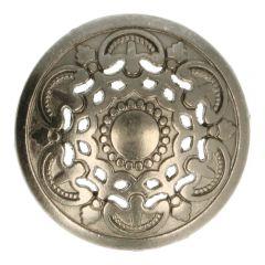 """Knopf Metall 36"""" italienisches Design - 50 Stück"""