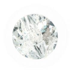Knopf Diamant Stern - 40 Stück