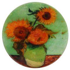 Knopf Perlmutt Sonnenblume Größe 32-54 - 30-50 Stück