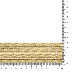 Elastik für Gürtel gold 40-60mm - 10m