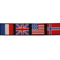 Elastik Band Flaggen 40mm - 10m