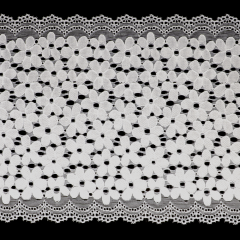 Nylon Spitzenband elastisch 17,5cm - 12,5m