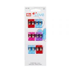 Prym Love Stoff Clips 2,6-5,5cm - 5Stk