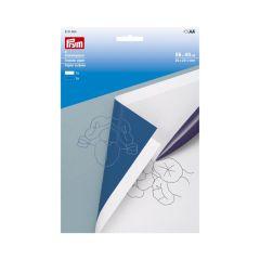 Prym Transferpapier 56x40cm weiß-blau - 5Stk