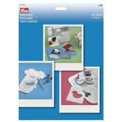 Prym Freezer Papier DIN A4 25 Blatt - 3Stk