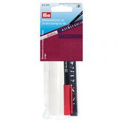 Prym Wäschemarkierset Standard roter Stift - 5Stk