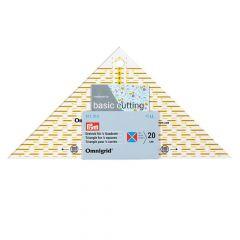 Prym Omnigrid Flottes Dreieck 1-4 - 1-2 Quadrat - 3Stk