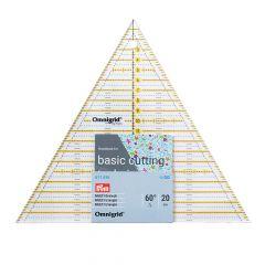 Prym Omnigrid Patchwork-Lineal Dreieck Multi 20cm - 3Stk