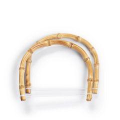 Prym Taschengriffe Kim Bambus 15,5x13cm - 3x2Stk