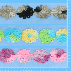 Angebot Blumenband Tüll 3x7m - Sortiment 1