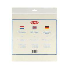 Opry Schnittmusterpapier 1-3m2 transparent - 10Stk