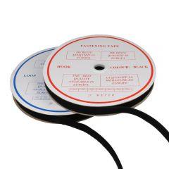 Klettband zum Aufnähen Haken und Flausch 25mm - 25m