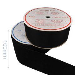 Klettband zum Aufnähen Haken und Flausch 100mm - 25m