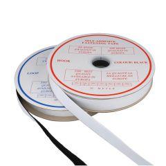 Klettband selbstklebend Haken und Flausch 20mm - 20m