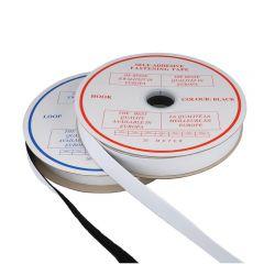Klettband selbstklebend Haken und Flausch 30mm - 20m