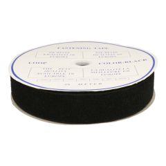 Klettband selbstkl. 50mm Flauschband schwarz-weiß -20m