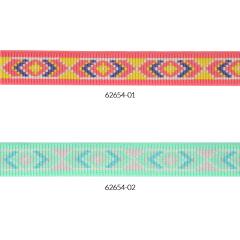 Elastiek Inka design 25mm - 10m