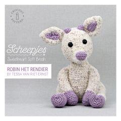 Scheepjes Häkelanleitung Sweetheart Soft Brush - 20Stk
