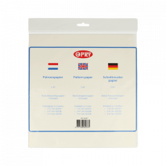 Opry Schnittmusterpapier 1-3m2 transparent - 50-100Stk