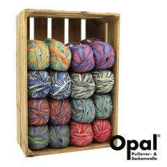 Opal Sortiment 6-fach 2x150g - 8 Farben - 1Stk