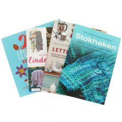 Bücher Sortiment häkeln und stricken klein - 1Stk