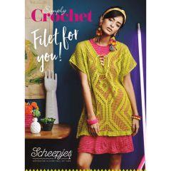 Scheepjes Simply Crochet Filet for You handout - 10st