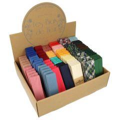 Dox Schrägband Sortiment Baumwolle- Satin - 24 Farben - 1Stk