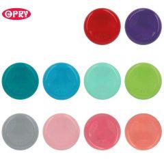 Opry Stecknadel-Magnet rund Sortiment - 10Stk