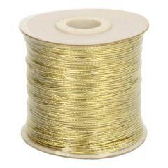 Kordel Metallic gold 1mm - 200m