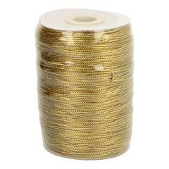 Kordel Metallic gold 1,5mm - 200m