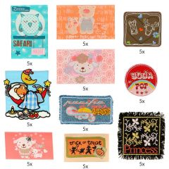 HKM Applikation Sortiment Kinder - 10x5Stk