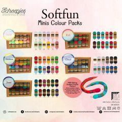 Scheepjes Softfun Colour Pack 12x20g - 5x2Stk - AST