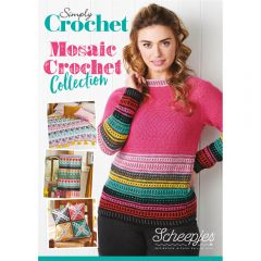Scheepjes Simply Crochet Mosaic Crochet Collect. UK - 10Stk
