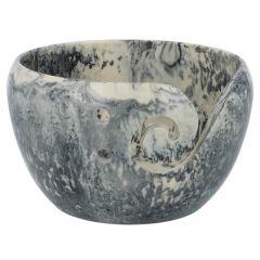 Scheepjes Yarn bowl Kunststoff 13x8cm marmor - 1Stk