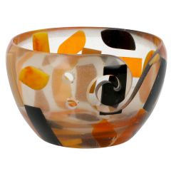 Scheepjes Yarn bowl Kunststoff 13x8cm transparent - 1Stk