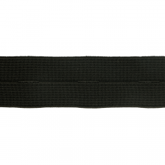 Knopflochelastik 25-30mm schwarz - 50m