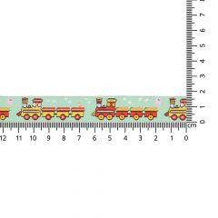 Gewebtes Band Züge 17mm - 24m