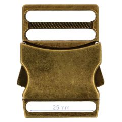 Steckschnalle Metall 25mm - 5Stk