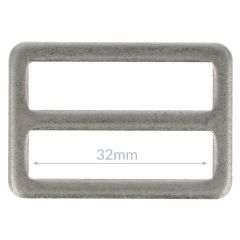 Schnalle Metall 32mm - 10Stk
