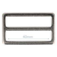 Schnalle Metall 40mm - 10Stk