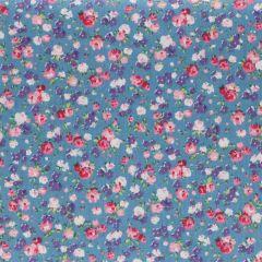 Tissu de Marie Stoff Blumen Baumwolle 1.50m - 10m - 01
