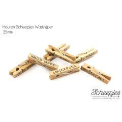 Scheepjes Wäscheklammer Holz - 50 Stk