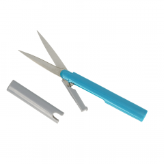 Opry Handschere 13,5cm blau - 1 Stück