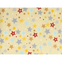 Tissu de Marie Stoff flanel Sterne - 10m